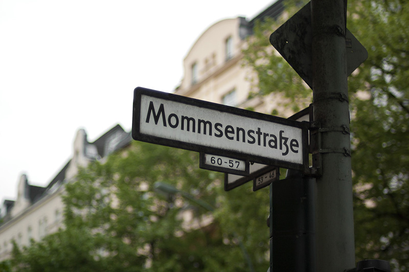 Mommsenstrasse. Berlin