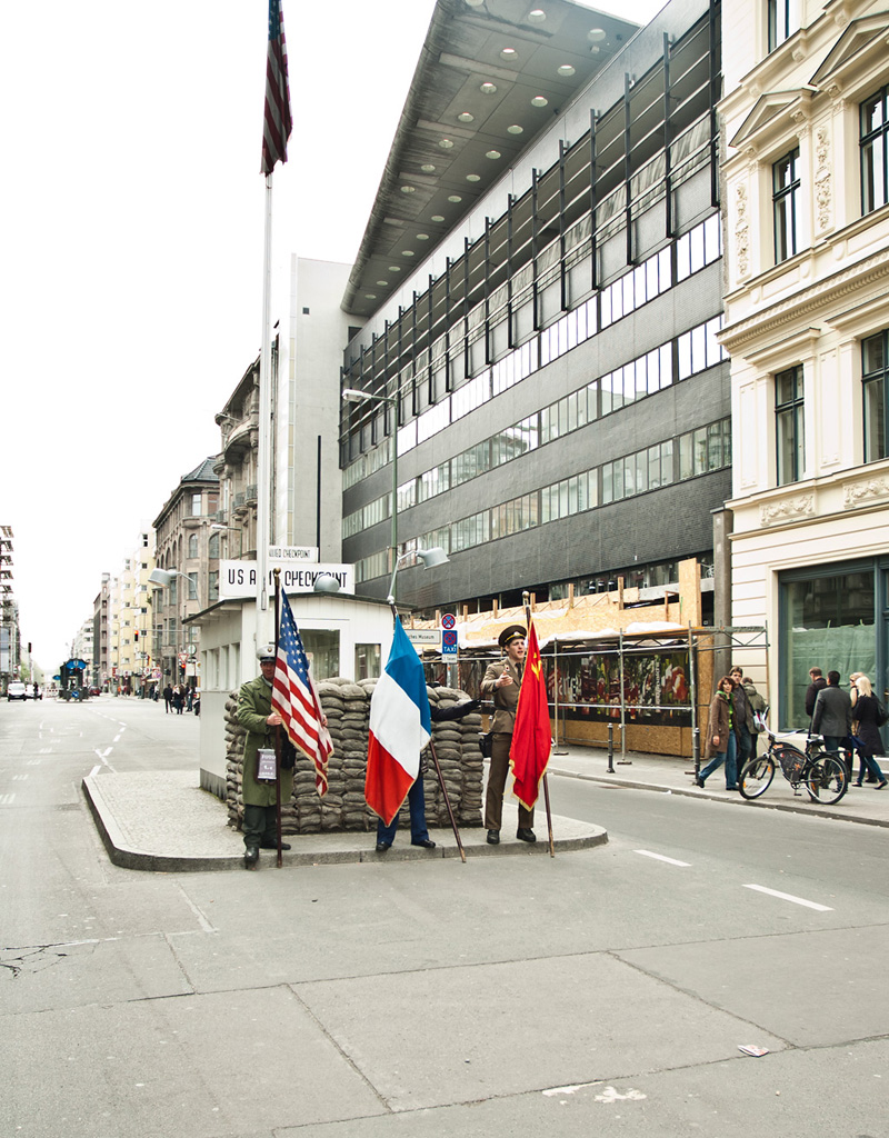 Checkpoint Charlie. Berlin